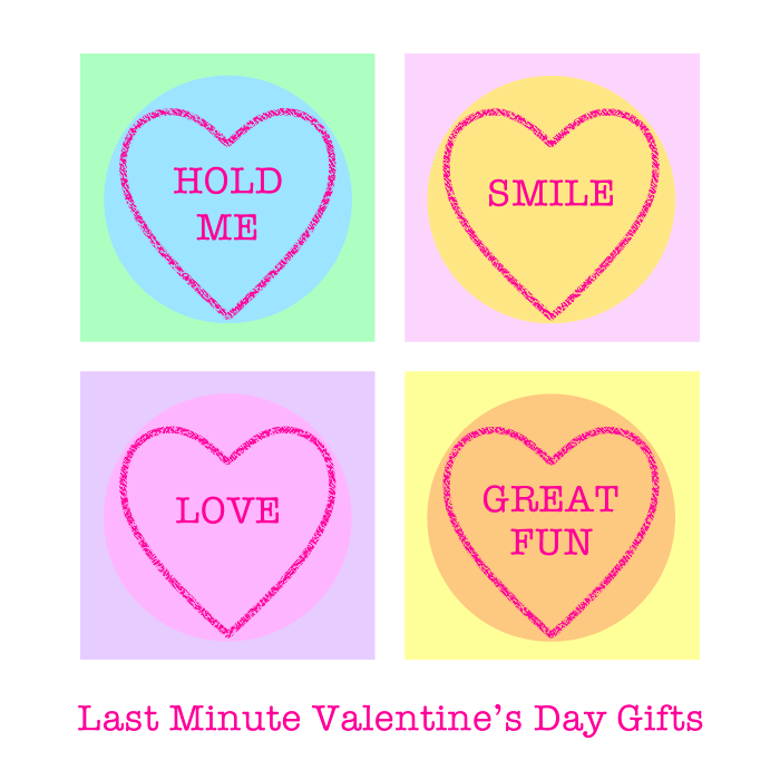 Last Minute Valentine's Day Gifts. Curated by Colour Their Day