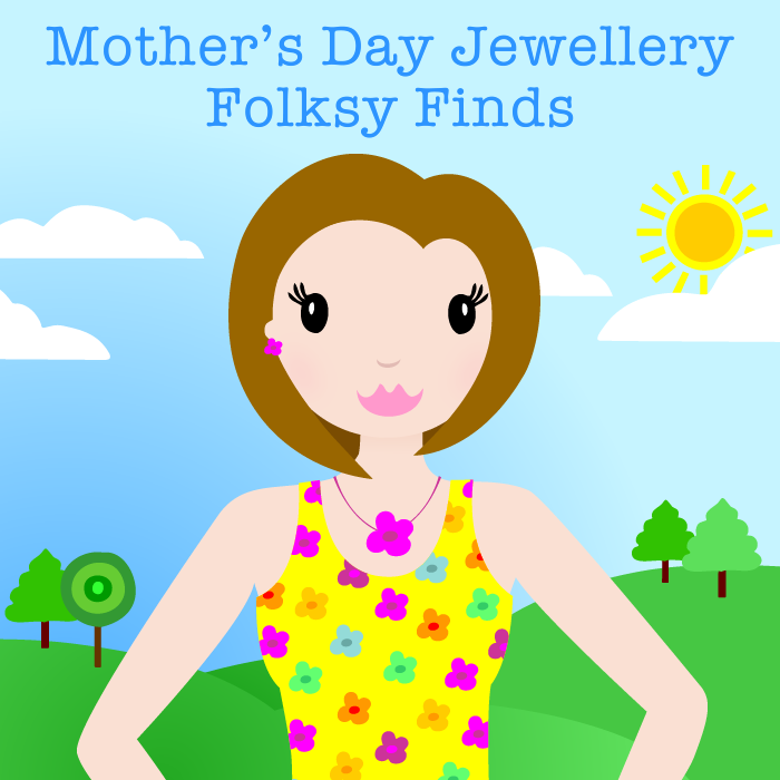 Flat Mother's Day Jewellery