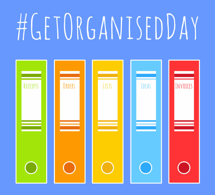 Get Organised Day - National Stationery Week