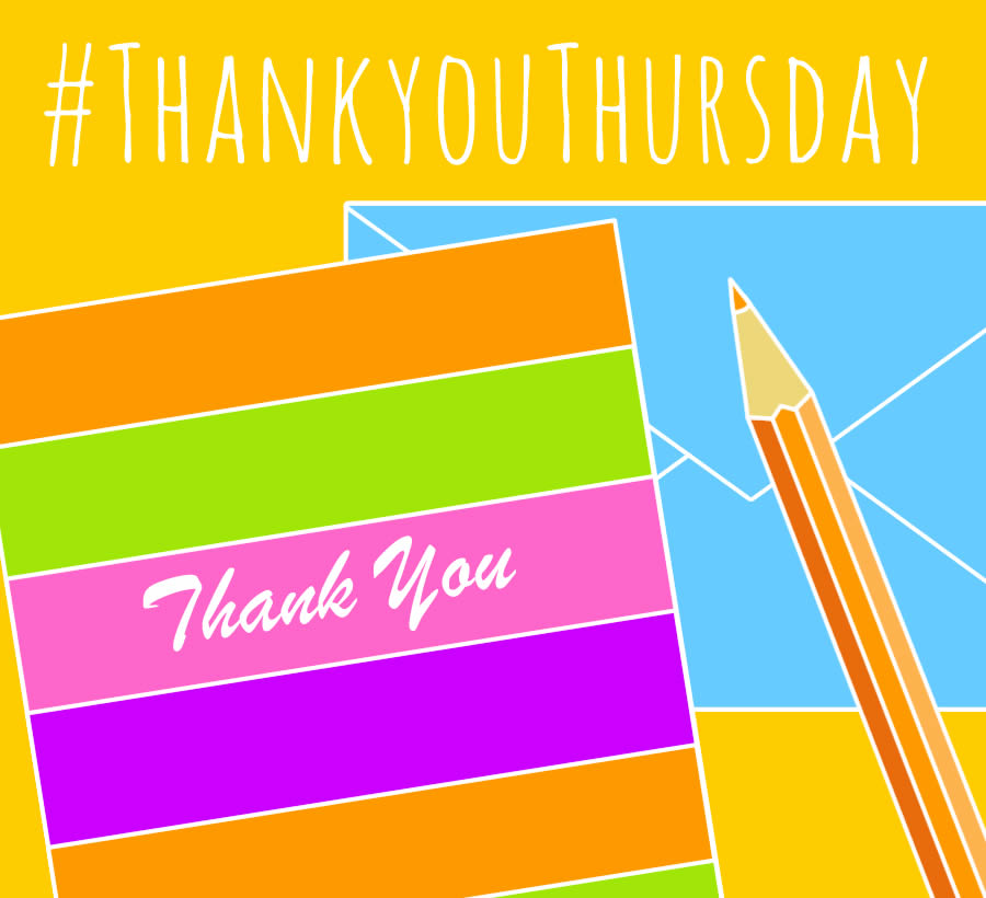 Thank You Thursday - National Stationery Week