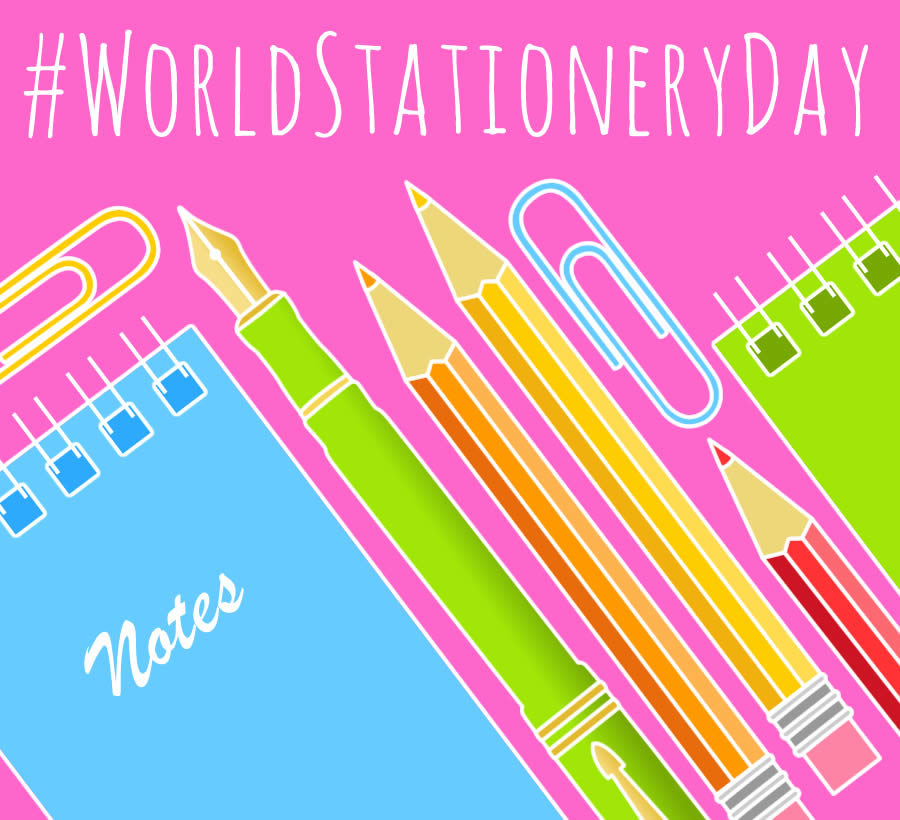 World Stationery Day - National Stationery Week