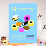 Allsorts Birthday Personalised Name Card
