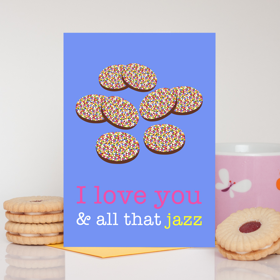 Jazzies Romantic Card