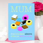 Mothers Day Allsorts Personalised Mum Card