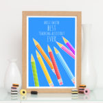 Best teaching assistant ever personalised print