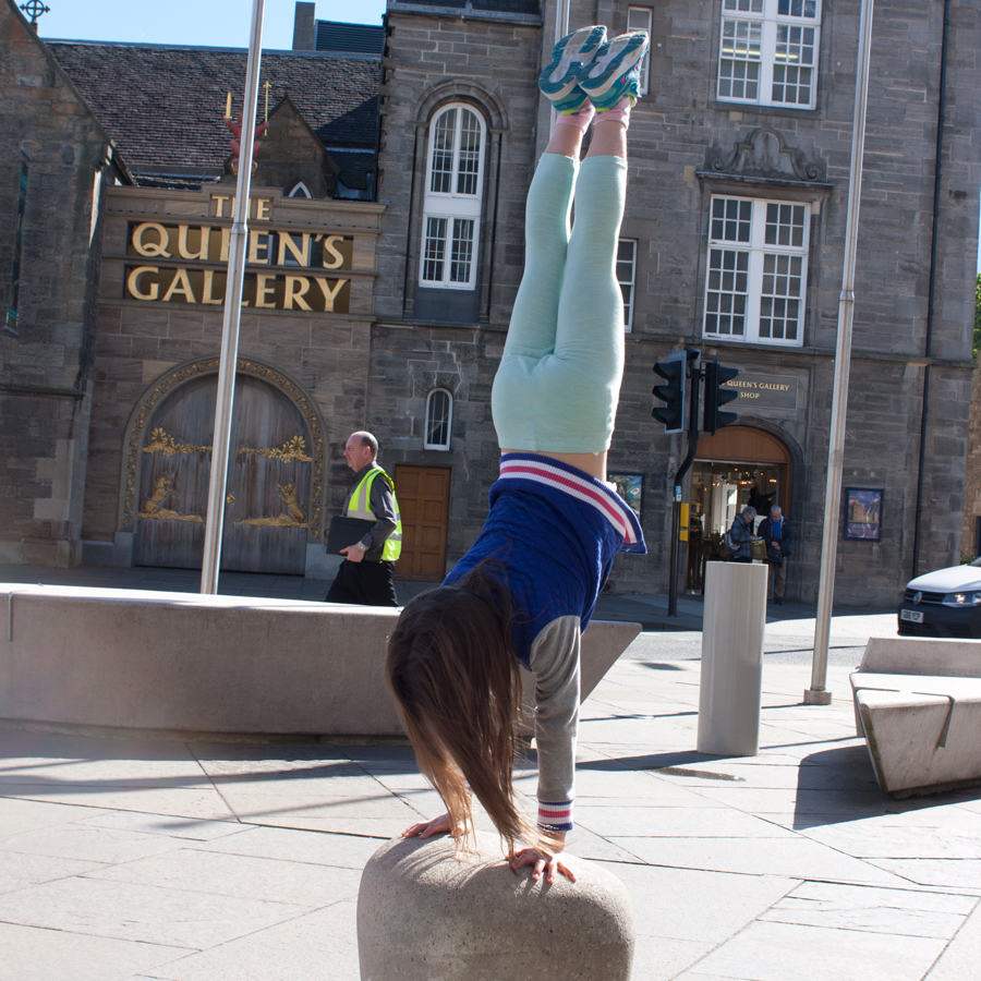 Abby-handstand